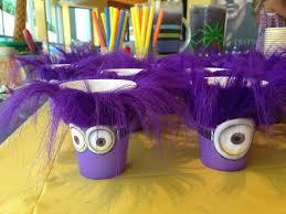 Minion Birthday Decorations The 25 Best Minion Cup Ideas On Pinterest Diy Minion