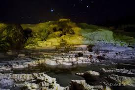 mammoth night of lights minnesota nature beyond mammoth springs at night