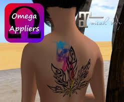 second life marketplace pot leaf tattoo w appliers