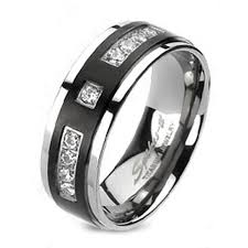 mens black titanium wedding rings 8mm men s titanium ring wedding band silver black