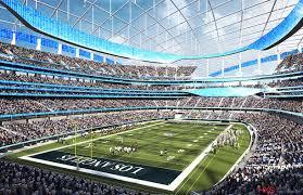 l a rams u0027 new nfl home will be hks designed stadium