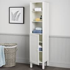 Freestanding Bathroom Furniture Tall Bathroom Storage Units Storage Ideas