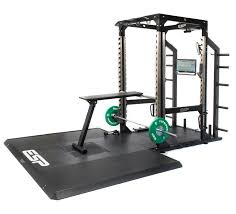 esp fitness power bench prone row bench compact versatile