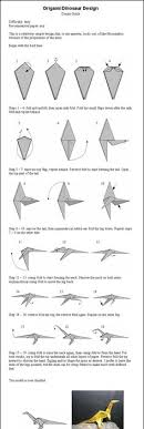 how to make an easy origami dinosaur in this tutorial i ll teach you