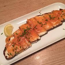 cuisine de bar salmon tartine picture of cuisine de bar by poilane