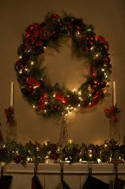ideas for christmas decorations outside mesh christmas wreath