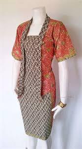 gambar model baju batik modern model baju batik couple yang elegan