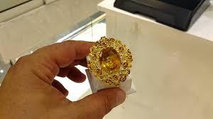 wedding ring dubai citrine ring 30 karat for 14 900 aed at gold souq dubai 19 04 2016