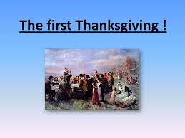 the thanksgiving origins the who created