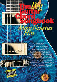 the big guitar chord songbook more nineties hits presto sheet music