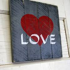 best pallet love sign products on wanelo