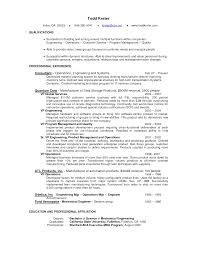 customer service manager resume supervisor goals and objectives