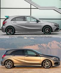 2016 mercedes a class vs 2012 mercedes a class old vs new