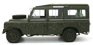 custom land rover defender created in 1971 but never seen until now the land rover art car