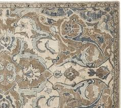 Pottery Barn Rugs On Sale Nolan Style Rug Neutral Floor Cloth Project