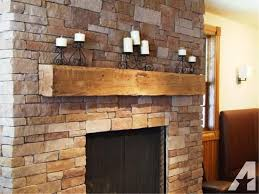 decorating rustic fireplace mantels