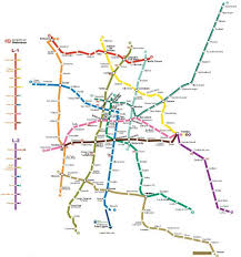 the metro map transportation in mexico city