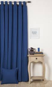 Blue Window Curtains Custom Cotton Curtains I Free Shipping I Spiffy Spools
