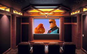 Home Theatre Interior by Home Theater Wallpaper For Desktop