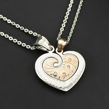 puzzle love necklace images Love quot hearts jigsaw puzzle couple necklace gear delight jpg