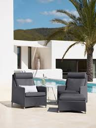 High Back Patio Chairs by 5 Trendy Outdoor Seating Collections That Induce Indulgence