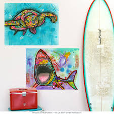 sea turtle dean russo pop art wall decal removable wall stickers