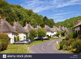 beautiful old village uk milton abbas village in dorset england