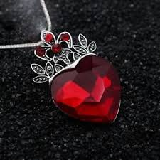 necklace for s day s day evie descendants heart crown pendant necklace