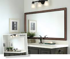 bathroom cabinets diy mirror frame designs how to frame a mirror