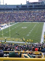 Lambeau Field Map Lambeau Field Section 351 Home Of Green Bay Packers