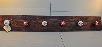 coat hook wall mounted with simple natural oak wood 3 hook wall
