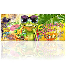 online get cheap art frog aliexpress com alibaba group large size home decor canvas art frog canvas wall art hawaii canvas prints colorful wall paintings