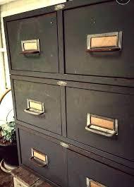 vintage metal file cabinet vintage file cabinet tannery vintage four drawer filing cabinet