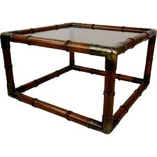 vintage square coffee table vintage square coffee table in wood metal and glass 1970s