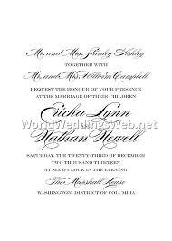 reception only invitation wording sles wording for wedding invitation 3 best wedding source gallery