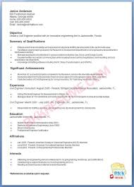 Sample Resume For Fresher Software Engineer by Sample Resume For Civil Engineer Fresher Free Resume Example And