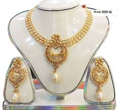 gold plated necklace images Gold plated indian jewelry set online shopping in jpeg