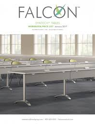 Bench Products Price List Falcon Products Documents