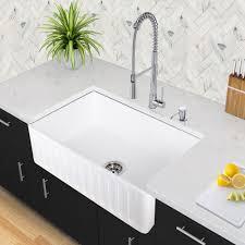 Kitchen Sink Cutting Board by Vigo Industries Vgra3318cs 33 Inch Matte Stone Single Bowl