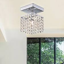 Chrome Chandeliers Clearance Jhea 1 Light Crystal 5 Inch Chrome Chandelier Free Shipping On