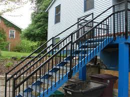 deck stair stringers by fast stairs com