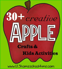 30 apple crafts u0026 kids activities for september