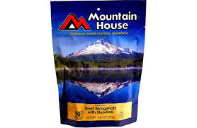 Mountain House Food Stroganoff With Noodles Family Sized Pouch Mountain House