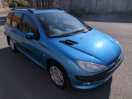 buy new peugeot 206 peugeot 206 sw xt 1 4 estate with sunroof 2002 only 52k miles