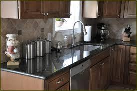 furniture home minimalist kitchen black granite lowes countertop
