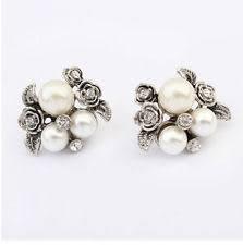 pearl earrings stud pearl earrings mikimoto freshwater tahitian ebay