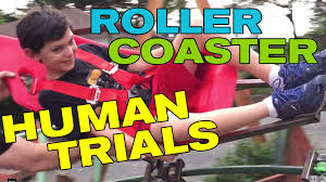 front yard backyard roller coaster first human trials youtube