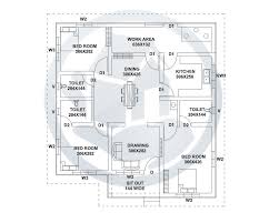 Low Budget House Plans In Kerala With Price Sq Ft Beautiful Kerala Style Home Design With Plan