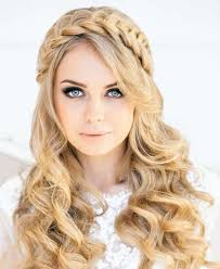 what is the latest hairstyle for 2015 latest stunning bridal wedding day hair