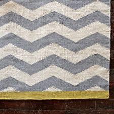 Organic Wool Rug Zigzag Rug West Elm